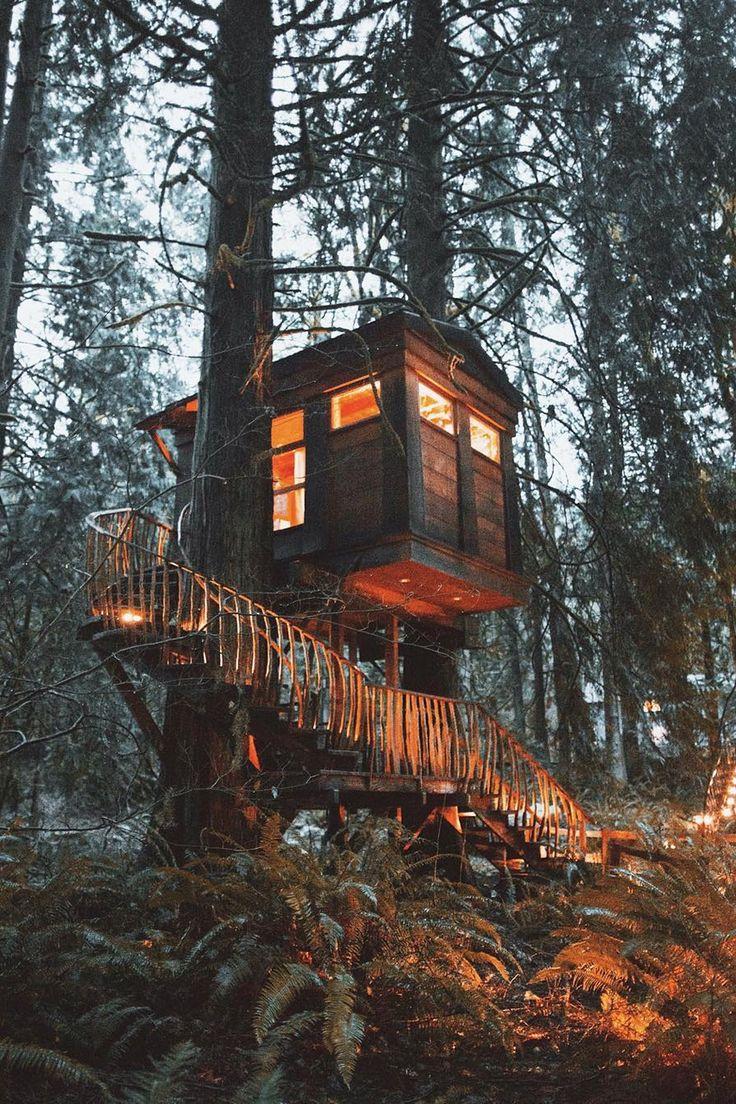 Enchanted fairy tree house here is a little faerie tree house linda - Tree House