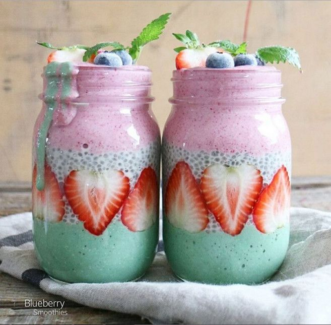 Food Porn Friday: 20 layered smoothies almost too gorgeous to eat: Gorgeous layered smoothies