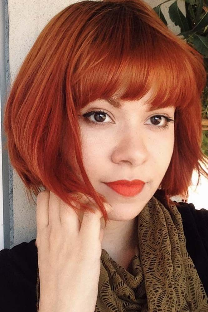 30 Styles For Short Hair With Bangs Lovehairstyles Com Short Hair With Bangs Hairstyles With Bangs Thick Hair Styles