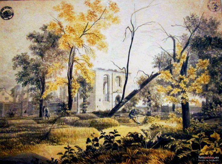 Kościół św. Michała (Wszystkich Bożych Aniołów), Gdańsk - 1809 rok, stare zdjęcia