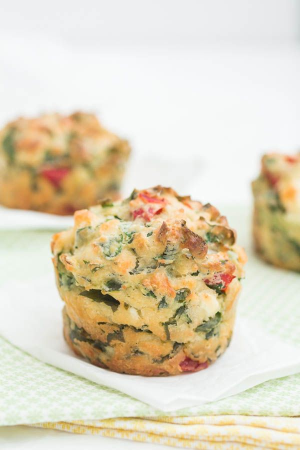 Feta and Wild Garlic Muffins | Recipes From A Pantry (Ramps, Ramsons)