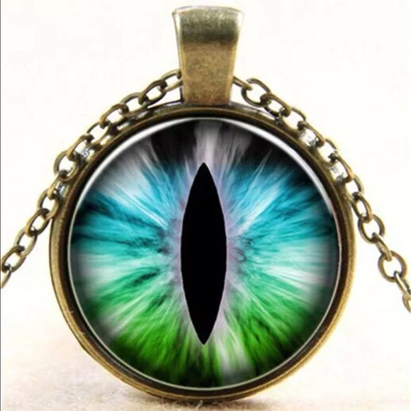 The Eye Necklace Brand new. Jewelry Necklaces