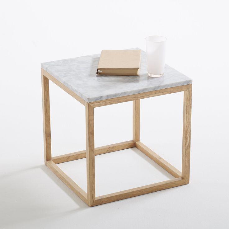 Столик диванный со столешницей из мрамора, Crueso La Redoute Interieurs : цена, отзывы & рейтинг, доставка. Столик диванный со столешницей из мрамора Crueso . Мрамор в моде : журнальный столик Cruseo в изысканном графическом стиле, прекрасно смотрится в гостиной . Описание диванного столика со столешницей из мрамора Cruseo :Каркас из массива дуба, НЦ-лакировка, толщ.. ножек 2,5 см .Столешница из мрамора 40 x 40 см, толщ.. 1,3 см Найдите другие модели коллекции Cruseo на сайте laredoute.r...