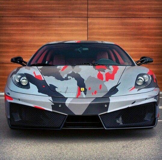 Camo Ferrari F430