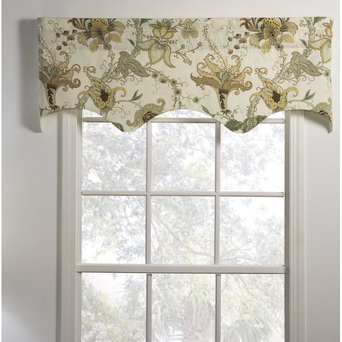 Melani Lined Empress Filler 50 Window Valance Window Valance