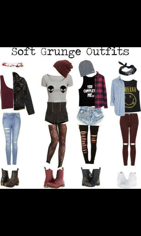 Grunge clothes