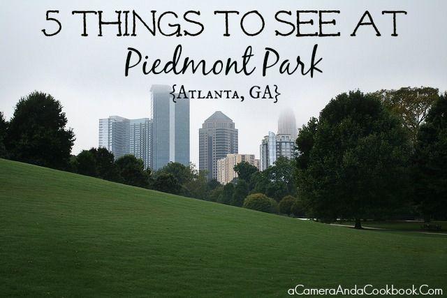 5 Things to See at Piedmont Park {Atlanta, GA}