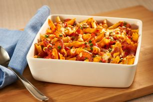 Make-Ahead Pizza-Pasta Bake Recipe - Kraft Recipes