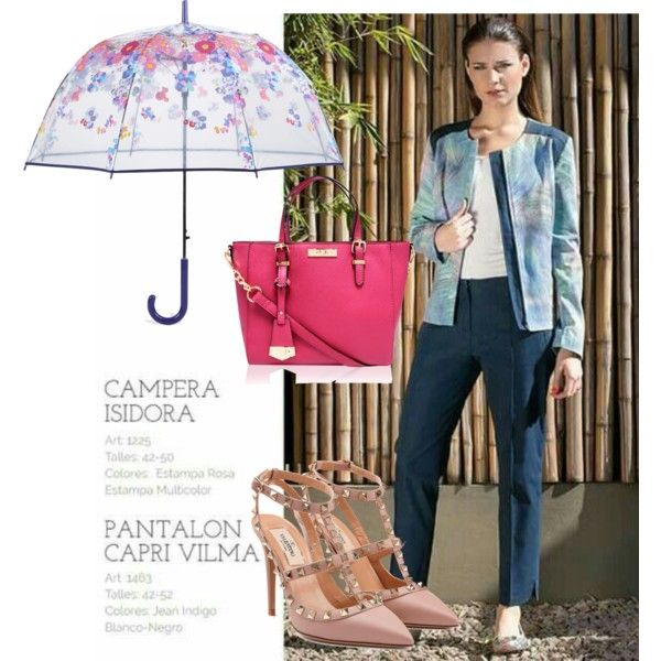 A fashion look from September 2015 featuring Valentino pumps, Carvela Kurt Geiger tote bags and Vera Bradley umbrellas. Browse and shop related looks.