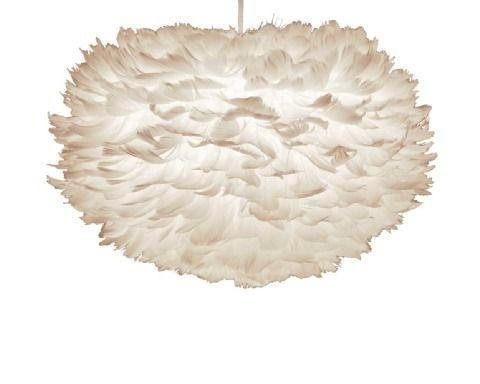 Papillon Interiors - Vita Eos Feather Pendant Light, £50.15 (http://www.papilloninteriors.co.uk/vita-eos-feather-pendant-light/)