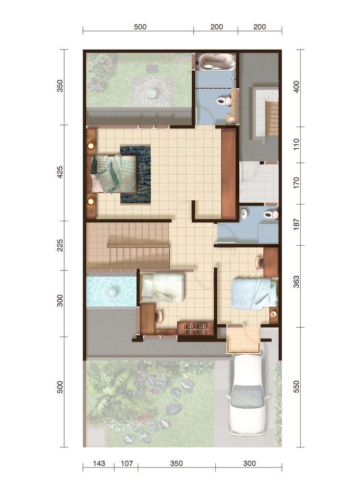 Denah New Regina lantai 2
