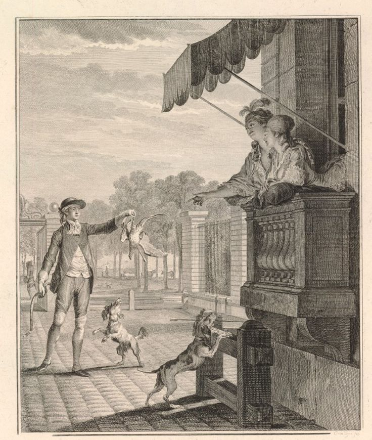 Интересное и забытое - быт и курьезы прошлых эпох. - Французский костюм и нравы конца 18 века, 1789 год.
