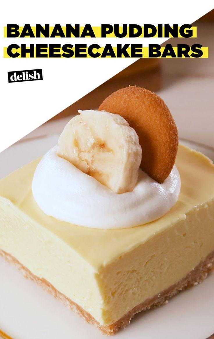 No-Bake Banana Pudding Cheesecake Bars Deliver On FlavorDelish