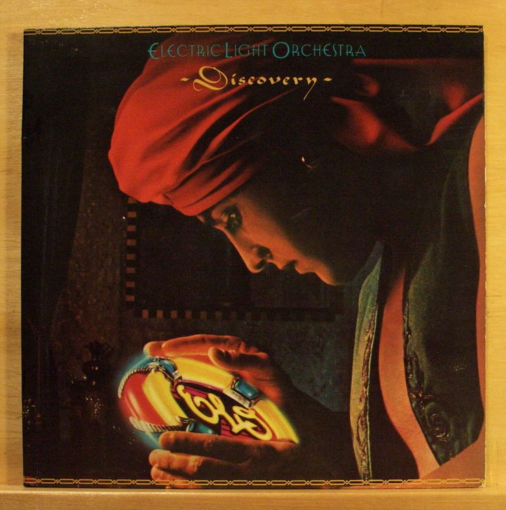 ELO ELECTRIC LIGHT ORCHESTRA Discovery - Vinyl LP Confusion Don´t bring me down