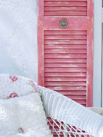 : Eye Candy, Old Shutters, Decor Ideas, Shabby Chic, Pretty Pink, Paintings Colors, Beautiful Pink, Pink Shutters, Pink Doors