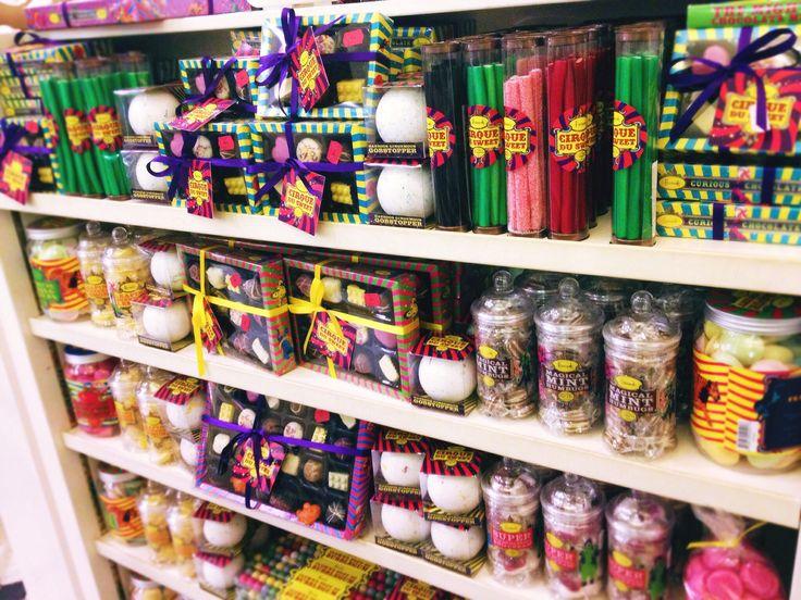Słodycze w Harrods w Londynie
