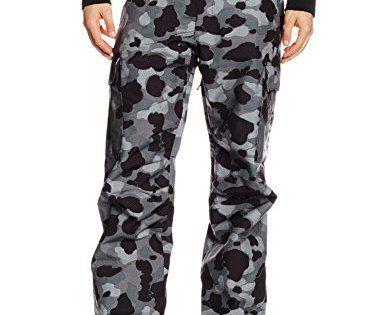 DC Shoes Banshee Pantalon de ski Homme: Technologie Exotex 10(10.000mm, 5.000g). Doublure pour la rétention de la chaleur. Isolation…
