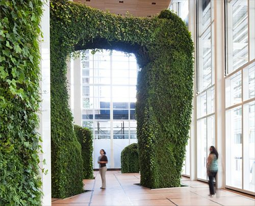 Green WallsBanks Of America, Bryant Parks, Indoor Gardens, Green Wall, Urban Gardens, Architects Newspaper, Vertical Gardens, America Buildings, Gardens Room
