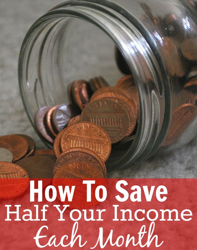 How To Save 50% Or More Of Your Income. Yes, it is possible to live on 50% of your income. Read here to find out today! #moneytips http://www.makingsenseofcents.com/2014/07/how-to-save-50-or-more-of-your-income.html