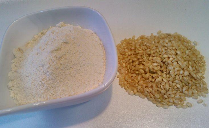 Harina de arroz normal o integral
