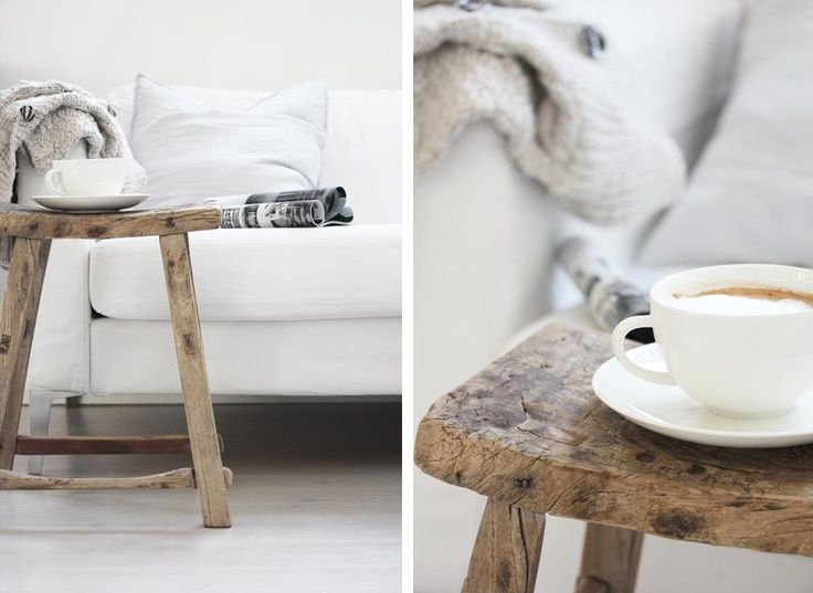 Inspiration Board: Wood and White