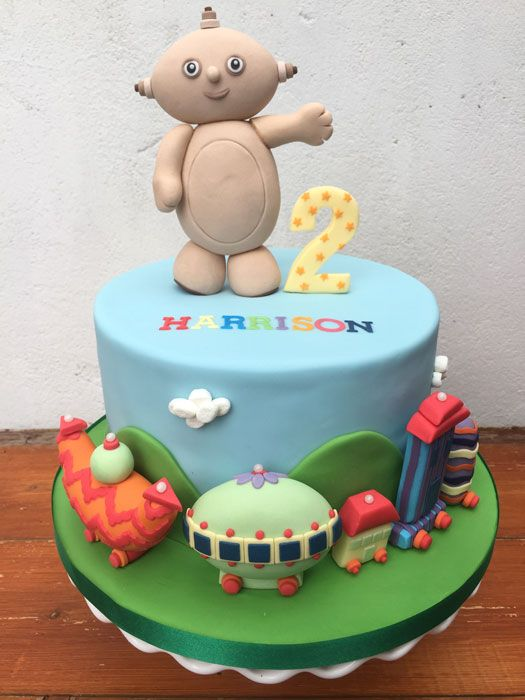 In the Night Garden Macca Pacca Birthday Cake. www.sweetcakebites.co.uk