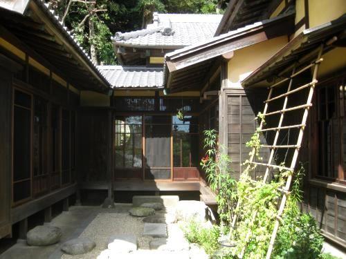 日本家屋 中庭