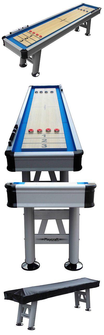Shuffleboard 79777: Playcraft Extera 9 Outdoor Shuffleboard Table BUY IT NOW ONLY: $2699.0
