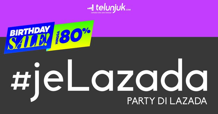 Wow wait WHAT? Lazada Indonesia merayakan ulang tahunnya hari ini lho, Sahabat Telunjuk! Selama perayaan hari ulang tahun, Lazada mempunyai kejutan sebagai ungkapan terimakasih terhadap pelanggan setia mereka. Promo besar-besaran semua produk yang kamu butuhkan, semua barang diskon dan lebih murah dari yang lain. Adapun promo ulang tahun Lazada keempat Lazada kali ini akan berlangsung selama tiga hari kedepan hingga 18 Maret. Biar nggak ketinggalan seluruh penawaran menariknya, intip dulu…