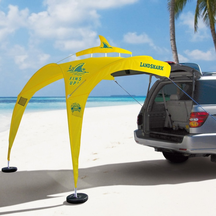 The Tailgator -Made in The Shade and perfect for parrot heads!