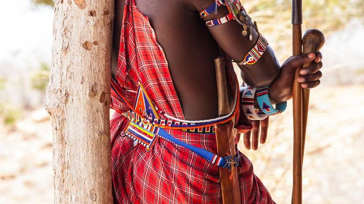 Kenya - A Week in the Masai Mara: Kicheche Special - Costume Detail, #MasaiMara, #Kenya #Steppes Spend a week on holiday in the Masai Mara, staying at luxury bush camps located in the Mara's finest conservancies.