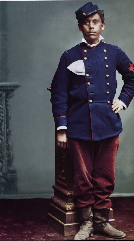 Soldado Ruperto Ormazabal del Regimiento Nº 1 de Artilleria