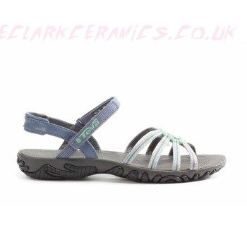 New Womens Sandals - Grey - Teva Kayenta Trekking-Sandals