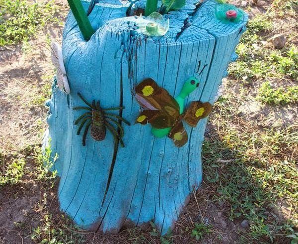 Οι κορμοί και τα κούτσουρα των δένδρων είναι ένα τέλειο υλικό για τέχνη και διακοσμήσεις στον κήπο και την αυλή σας . Σήμερα ...