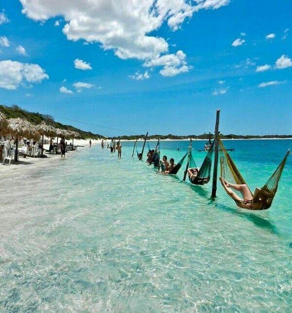 Jericoacoara Beach paradise in Ceara state, Brazil ...