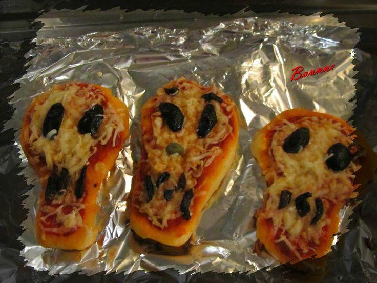 Pizza tête de mort