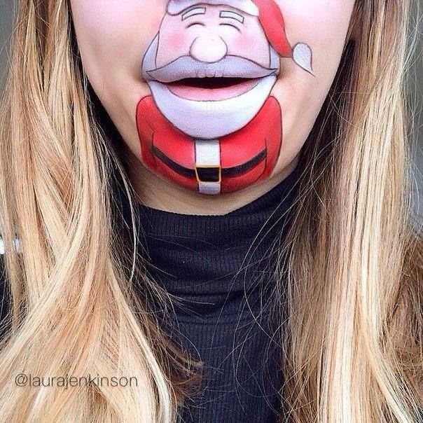 Best Lip Art Images On Pinterest Lip Art Body Painting And - Laura jenkinson mouth painting