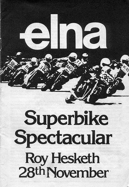Roy Hesketh Racing Programmes 28th November 1981 | Pietermarizburg