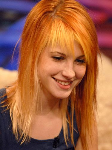 Hayley Williams from Paramore Hair Pictures - Haley Williams Hair ...