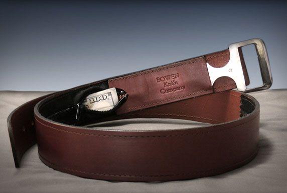 Belt Buckle Knife by Bowen
