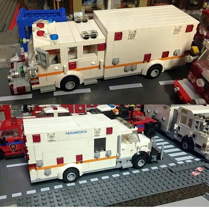 lego fire truck instructions 60004