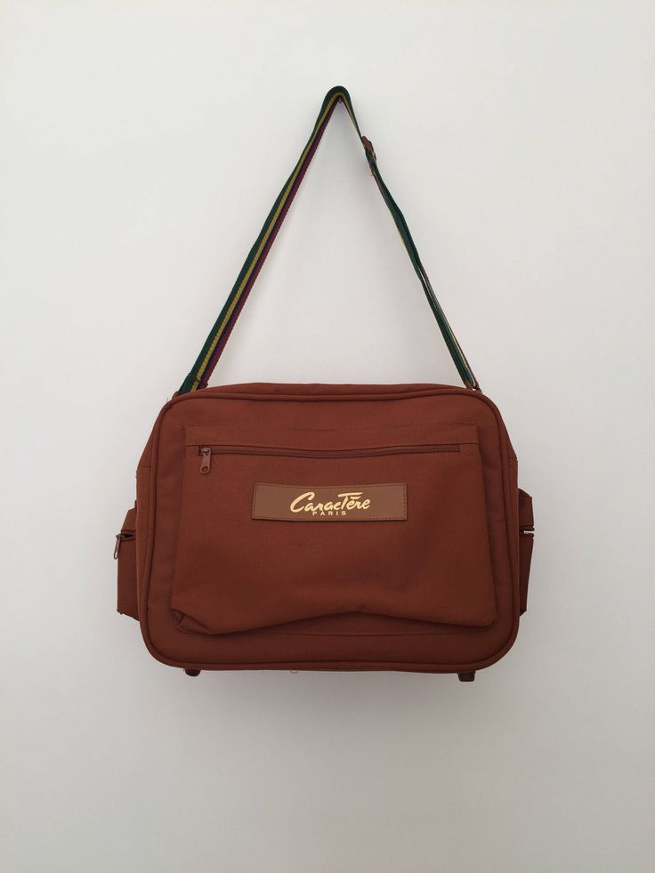 Vintage bag / vintage messenger bag / canvas messenger bag / laptop messenger bag / overnight bag / canvas overnight bag / messenger bag by LOFTOWN on Etsy
