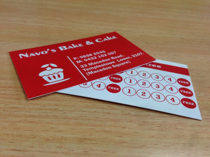 7 best business cards flyers images on pinterest business cards for navos bake and cake designed and printed by sign a rama box hill reheart Choice Image