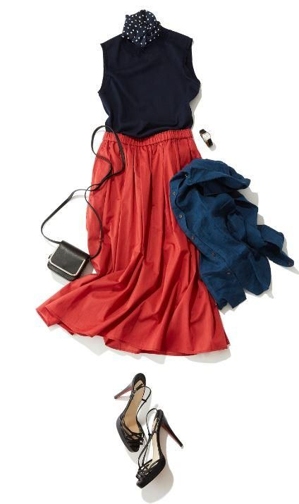 Dare to be bold. Add a touch of color to your look with our High Waist Cotton Lawn Volume Skirt.