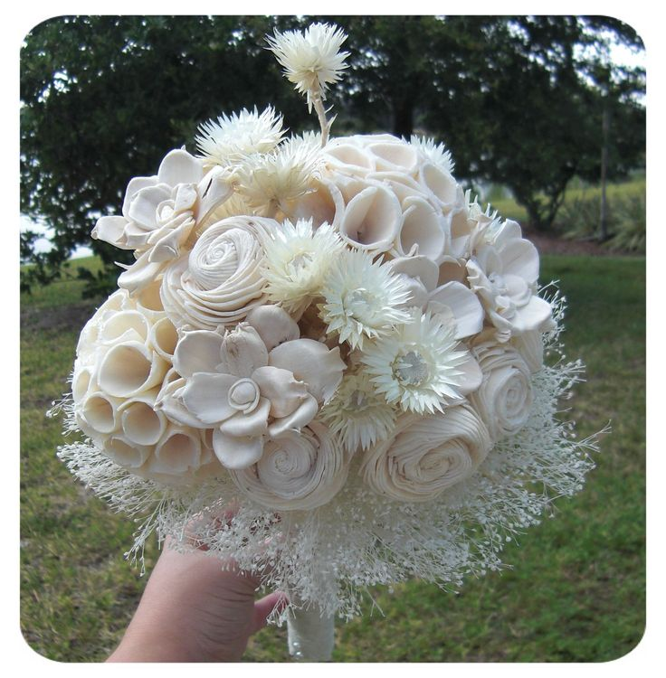 Alternative Non Floral Wedding Bridal Bouquets