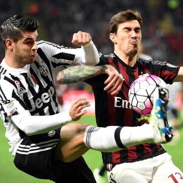 Alvaro #Morata contro Alessio #Romagnoli