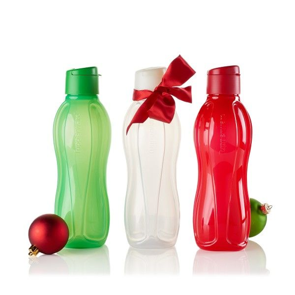 Large Eco Water Bottle Set of 3 36oz bottles is on #Sale for only $18 until September 8th, 2017 @ http://rachelfulkerson.my.tupperware.com Don't miss this amazing deal!          Drinking just a little more water throughout your day can make a real impact on your health, and doing so with durable, reusable bottles make the planet feel better, too.  And they also make great gifts.  #Tupperware #Tuppersale #LimitedTimeOffer
