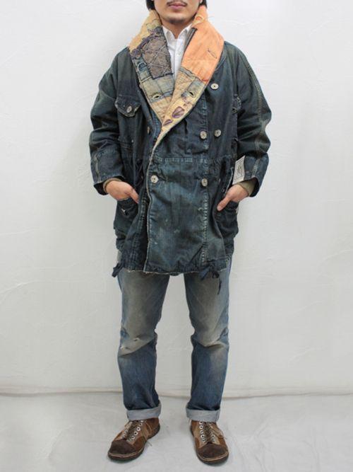 Hobo-king fisherman-captain boro style from Kapital