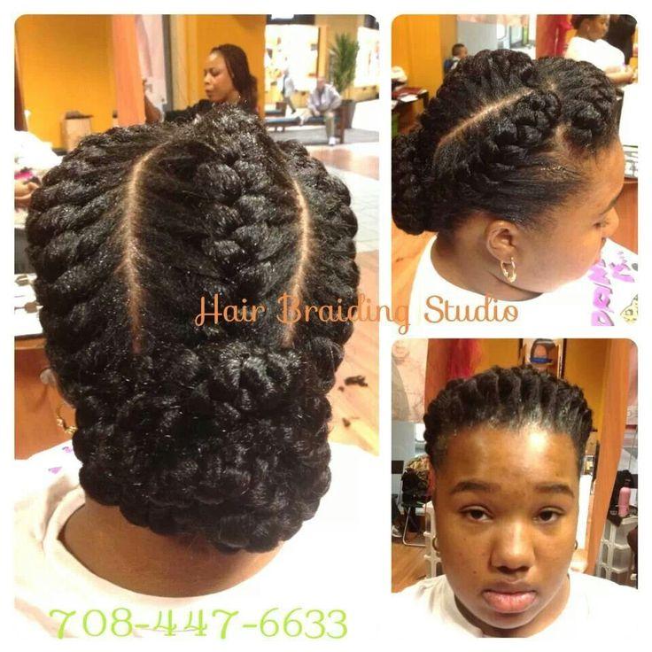 Terrific 1000 Images About Braids On Pinterest Cornrows Goddess Braids Hairstyles For Women Draintrainus