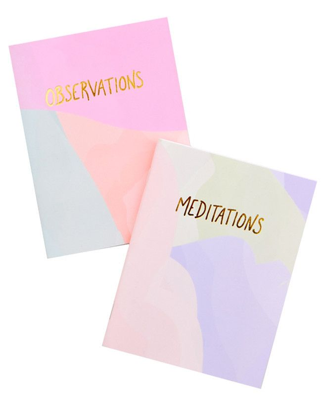 Pastel Pocket Notebook Set